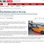 Putting Marbella Back on the Map